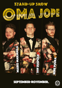 Külaline majas: Stand-up show OMA JOPE